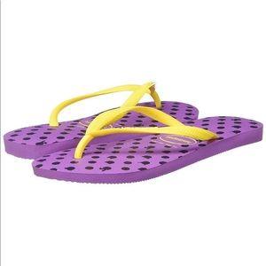Haviananas Slim Flip Flops 11 12 bunny cat sandal